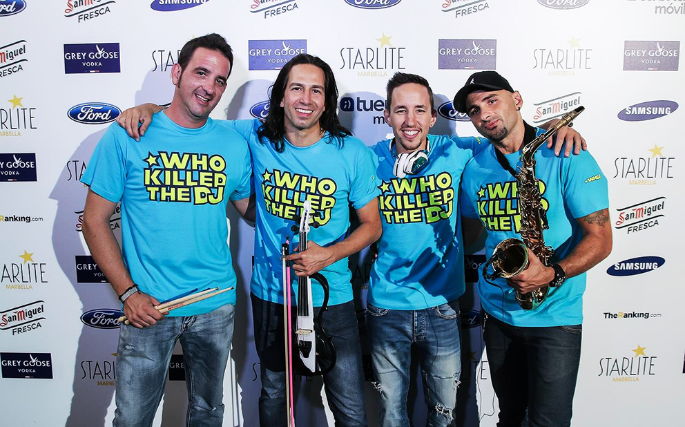 Who Killed the Dj | Wedding Band Marbella